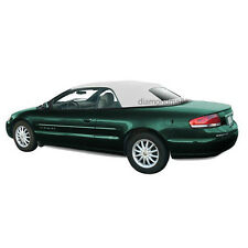 New Chrysler Sebring Convertible Soft Top & Plastic window White Sailcloth