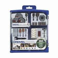 Dremel Rotary Tool 160 Piece Accessory Set Bits with Storage Box Over $140 Value