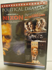Political Dramas: Nixon, All the King's Men, Storyville (DVD, 2016) - BRAND NEW