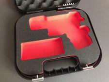 Custom Case Einsatz für Glock Koffer Schaumstoff G19 G23 G25 G26 G27 G32 G33 G38