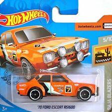 '70 Ford Escort RS1600 Hot Wheels 2020 Case C Baja Blazers 5/10 Mattel