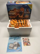 TYCO Pulse/Tone Switchable GARFIELD Telephone IN BOX Nostalgia