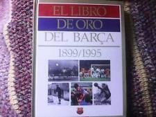 EL LIBRO DE ORO DEL BARÇA 1899/1995