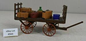 (Lot #944) G Scale LGB Pola Model Train 963 Baggage Cart Built Kit