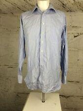 Men's Aquascutum Two Fold Stripe Shirt Tailoring Smart Medium (1344)