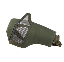 Half Face Nylon Training Mask Wire Breathable Winter Protect Riding Army Green