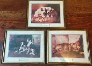 Lilian Cheviot, John Sargent Noble, John Emms 3 X Framed Animal Prints