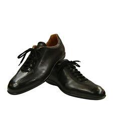 Santoni Club Sneakers Schwarz Gr: 41/7, 41,5/7,5, 42,5/8,5