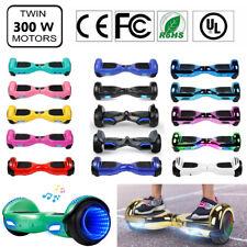 Electric Self Balance Scooter Hoverboard Led Sidelights Wheels Ul2272 Safe + bag