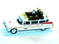 ECTO 1 GHOSTBUSTERS COLLECTIBLE DIECAST MOVIE CAR -White, 1/64