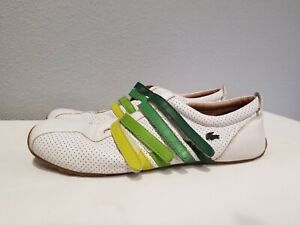 Lacoste Velcro Leather Upper Shoes for