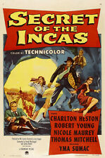 Secret of the Incas DVD (1954) Charlton Heston, Nicole Maurey, Robert Young
