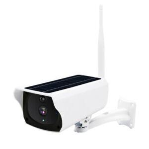 Wireless Solar Outdoor WiFi IP Camera 1080P HD Security Surveillance Waterproof