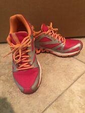 Reebok Zigtech Tennis Shoes, Size  8 woman, pink, orange