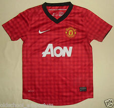 Manchester United / 2012-2013 Home - NIKE JUNIOR Shirt / Jersey. 8-10y, 128-140