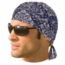 Écharpes bleus pour homme en 100% coton