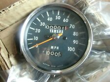 NOS  yamaha DT250 ? Speedometer  MPH 1974-76 from JAPAN  dt360 dt400  rd125