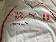 NWT Authentic Puma SWITZERLAND soccer football  jersey WC 2010 L