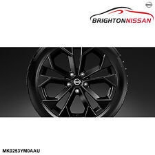 "New Genuine Nissan Juke F15 18"" Alloy Wheels (Black) MK0253YM0AAU RRP $1670"