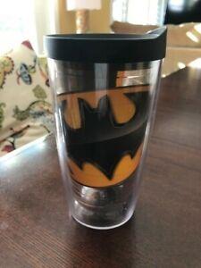 Tervis Tumbler Batman Black and Gold Black Lid 16 oz