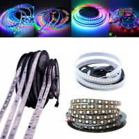 5050 DC5V/12V RGB LED Strip Light WS2811/WS2812B IC Individual Dream Color Lamp