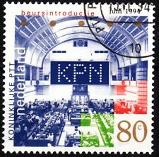 Netherlands 1994 Mi. 1517. Royal Dutch Post Shares at Stock Exchange, Used / Cto