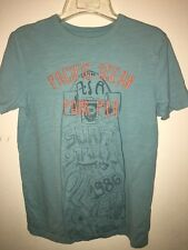 Gap Graphic turquoise Tee Shirt Youth Size XXL