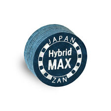 1 ZAN HYBRID MAX Pool Billiard CUE TIP-8 Layers-13 or 14 mm-GENUINE