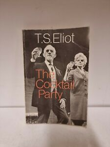 T.S. Eliot: The Cocktail Party: faber paper covered editions (C4)