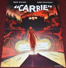 Brian DePalma's CARRIE 2016 ORIGINAL NM 18x24 HORROR ART POSTER! STEPHEN KING!