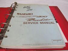 GENUINE 1991 Suzuki GSF400 Bandit Dealer Service Manual 99500-33020-03E