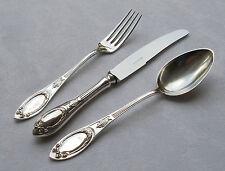 *RAR* 3-tlg. Besteckset Jugendstil in 800er Silber BSF um ca.1905