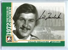 ITG 1972 The Year in Hockey  Autograph  #A-GM  Gilles Meloche