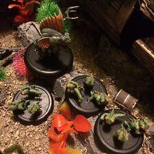 pathfinder dungeons dragons Malifaux amphibious assault fish miniatures painted