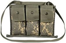 Lot of 10, 6 Magazine Bandoleer Pouch, MOLLE II Mags Army ACU Mag Pouch VGC
