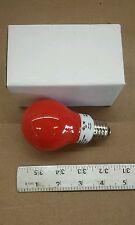 Lite Tronics MB-508D Ceramic Red Dimmable Light Bulb 5W A19 110-130V CR 50/60Hz