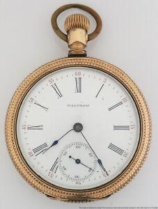 Large Waltham Pocket Watch To Fix