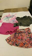 set of girls Tammy clothes skirts and vest top age 9