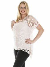 Geometric Viscose Tunic Tops & Blouses for Women