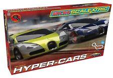 NEW Scalextric Micro Bugatti Veyron Hyper-Cars Comp Set 1:64 Slot Car SHIPS FREE