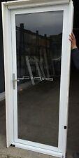 2100h x 878w NEW Aluminium Hinged Door 8 Colours Single Glazed