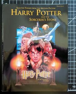 HARRY POTTER and the SORCERER's STONE, piano solo selections, music book