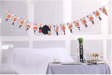 2.3 Meter - Gudetama Egg Banner / Bunting Flag Happy Birthday Party Decoration