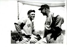 SPORTING NEWS COLLECTION PHOTO HALL OF FAMERS ROGERS HORNSBY AND HARRY HEILMANN