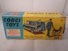 Corgi Toys no.448 B.M.C Mini Police Van Original Empty Box Only.Vintage Item