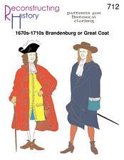 Schnittmuster RH 712 Paper Pattern Men's Brandenburg