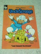 Walt Disney's Uncle Scrooge 196 VF- (7.5) Land Beneath the Ground! 50% off Guide