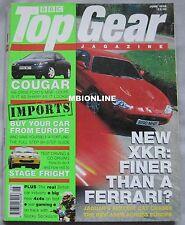 Top Gear magazine 06/1998 featuring Jaguar XKR, Ferrari, Bentley Arnage,Toyota