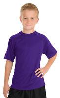 Sport-Tek New Youth Dri Fit Raglan Sleeve Moisture Wicking T-Shirt. Y473