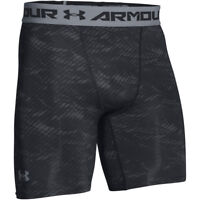 Under Armour Herren HeatGear Printed Kompressionsshorts Strumpfhosen 1257473 S